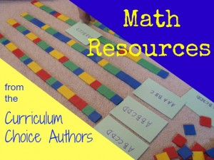 Math Resources from the Authors at the Curriculum Choice