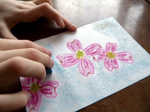 Blog She Wrote: Simple Start in Chalk Pastels