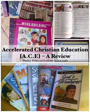 Accelerated Christian Education A.C.E is a self-paced curriculum which allows the curriculum to be tailored to each child's individual ability and level.