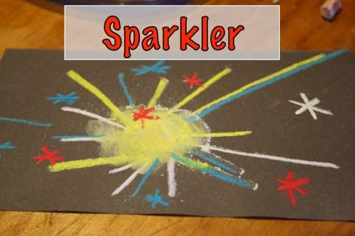 Chalk Pastels Sparkler