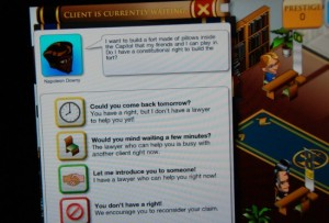 Civics Education: Pocket Law Firm iPad App Review