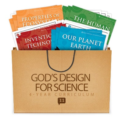 Answers in Genesis God's Design for Science bundle