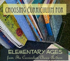 How to Choose curriculum for elementary homeschooling