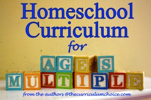 Homeschool Curriculum Reviews for Multiple Ages at thecurriculumchoice.com