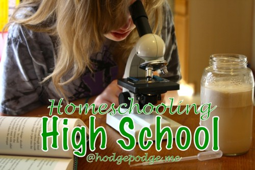 Homeschooling High School at Hodgepodge