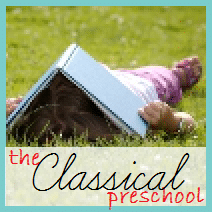 The Classical Preschool button - big