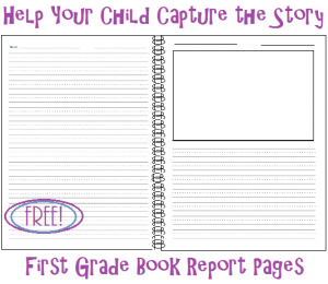 book report pages pic