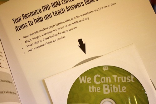 Answers Bible Curriculum DVD-ROM