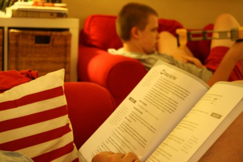 Answers Bible Curriculum as Family Devotion Time