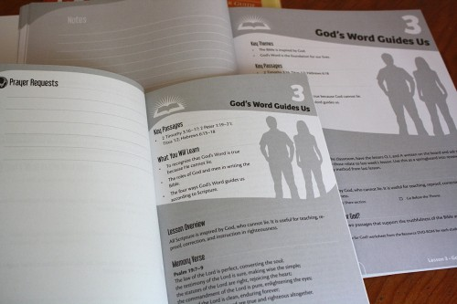 Answers Bible Curriculum - student and teacher guides