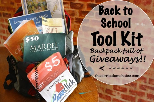 Back to School Tool Kit at www.thecurriculumchoice.com
