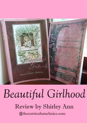 Not only does this book speak to the heart of your young lady, but the time you share together is precious and lifelong memories are stored up - strengthening that family bond and strengthening your daughter as she grows into womanhood.
