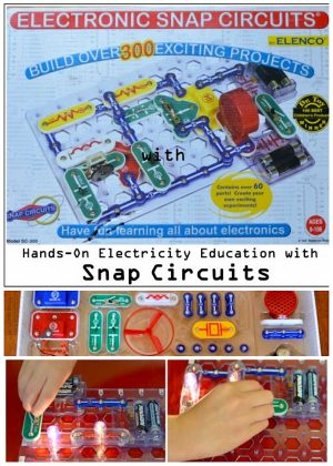 Snap circuits offers hands-on experience building the circuits that are present in the electronics we use every day with wonderful educational value.