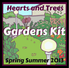Hearts and Trees kit