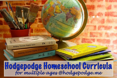 Hodgepodge #Homeschool Curricula for Multiple Ages www.hodgepodge.me