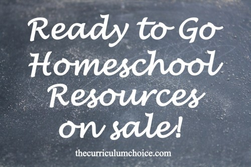#Homeschool Sales at www.thecurriculumchoice.com