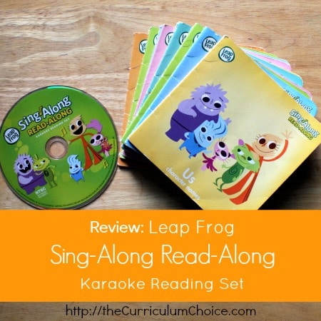 "Review: Leap Frog ""Sing-Along Read-Along"" Karaoke Reading Set"