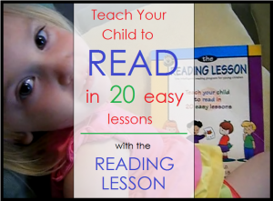 Teach Your Child to Read in 20 Easy Lessons with The Reading Lesson