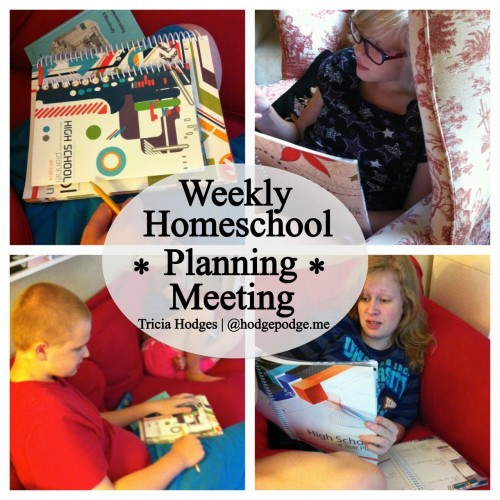 Weekly #Homeschool Meeting with Multiple Ages at www.hodgepodge.me