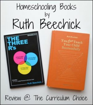 A review of homeschooling books by Ruth Beechick at The Curriculum Choice by Heidi. Dr. Beechick's The Three R's and You Can Teach Your Child Successfully