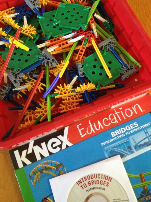KNEX set with CD