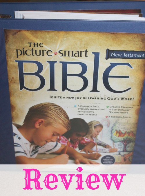 Picture Smart Bible Review from Cindy West at The Curriculum Choice