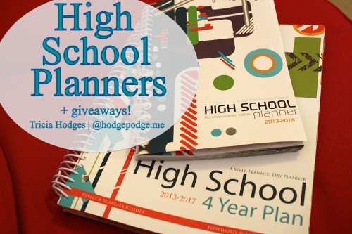 Well Planned Day High School 4 Year Planner and High School Planner Reviews at www.hodgepodge.me #homeschool