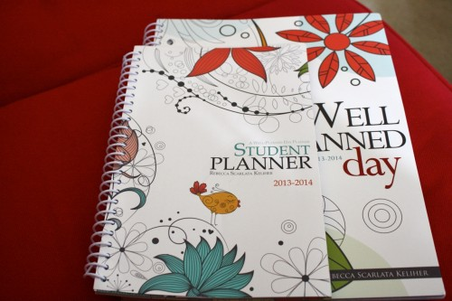 Well Planned Day Student Planner size
