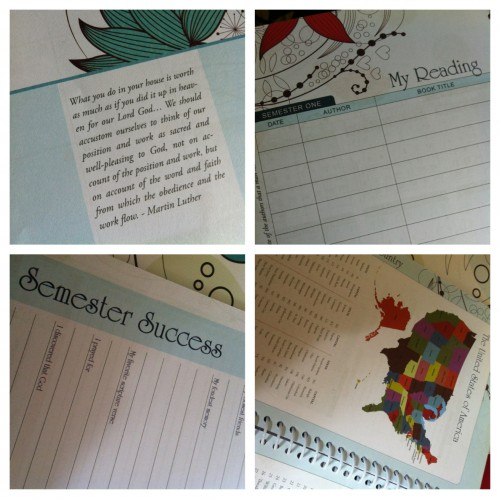 well planned day student planner features