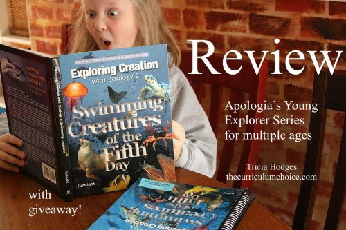 Apologia Zoology 2 Swimming Creatures of the Fifth Day Review www.thecurriculumchoice.com
