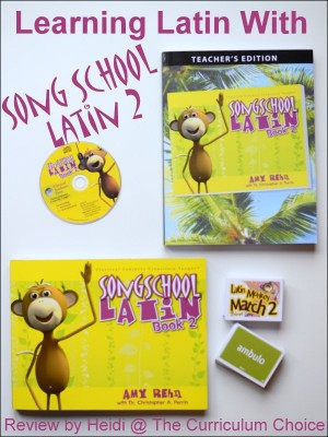 Learning Latin With Song School Latin 2
