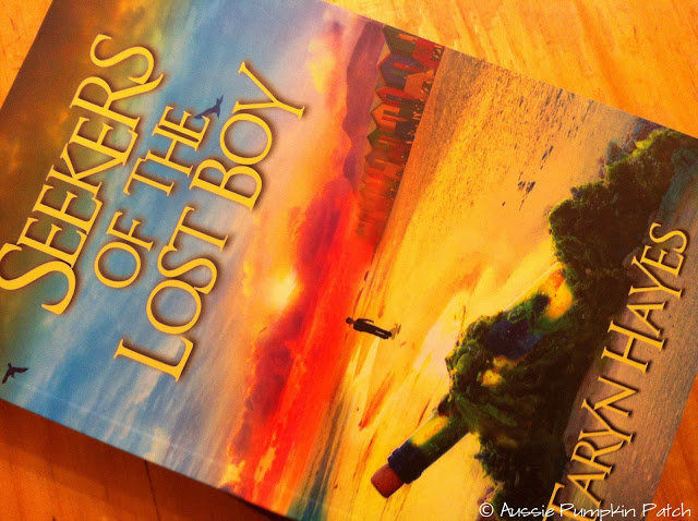"A review of Seekers of the Lost Boy - ""Read it slowly so we can read this book forever, but read it quickly so I know what happens!"""