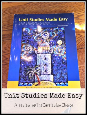 Unit Studies Made Easy