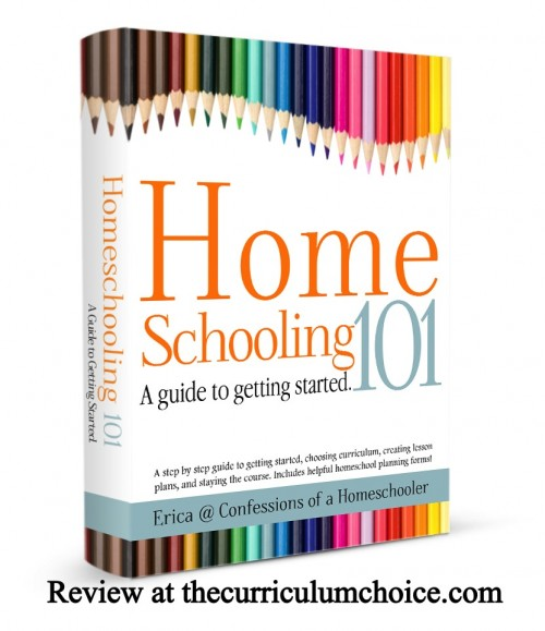 Homeschooling 101 review www.thecurriculumchoice.com