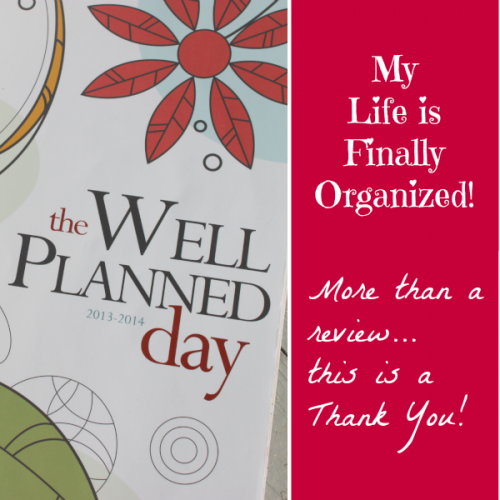 Well Planned Day Family and Homeschool Planner Review from Cindy West