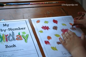 Color-By-Number Worksheets from Mama's Learning Corner – Review