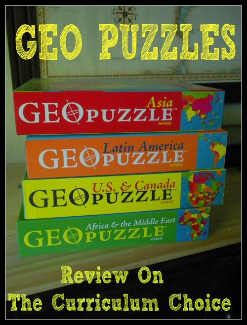 Geo Puzzles Review on The Curriculum Choice