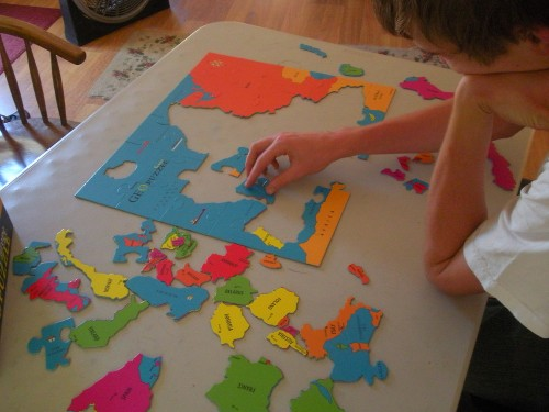 Geo Puzzle Review on The Curriculum choice