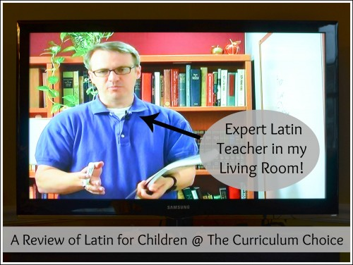 Latin Teacher in my Living Room