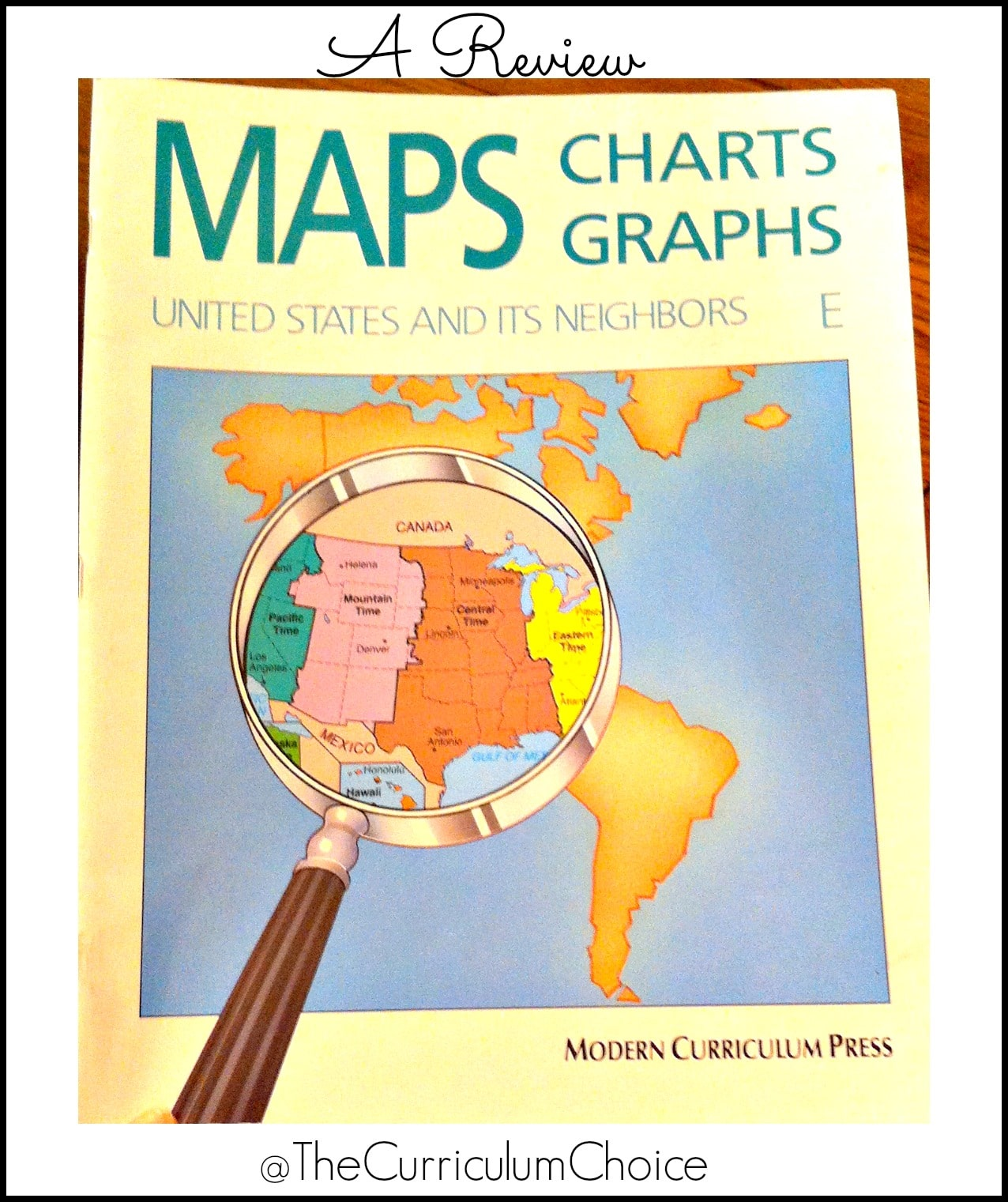 Maps Charts Graphs Review