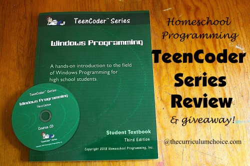 Homeschool Programming Teen Coder Series Review www.thecurriculumchoice.com