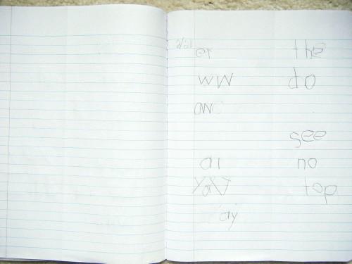 Writing Notebook 1