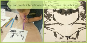 Inkblot by Margaret Peot | The Curriculum Choice