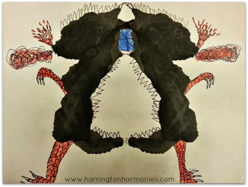 Inkblot art | The Curriculum Choice