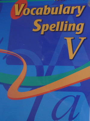 A Beka's Vocabulary Spelling V – Review