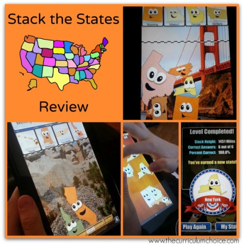 Stack the States Review | The Curriculum Choice