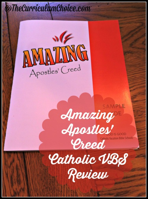 Amazing Apostles' Creed Catholic VBS