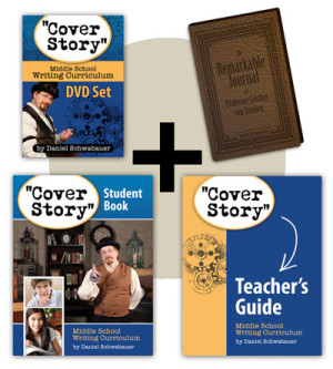 Cover Story Writing Curriculum for Middle School — a quick peek and giveaway!
