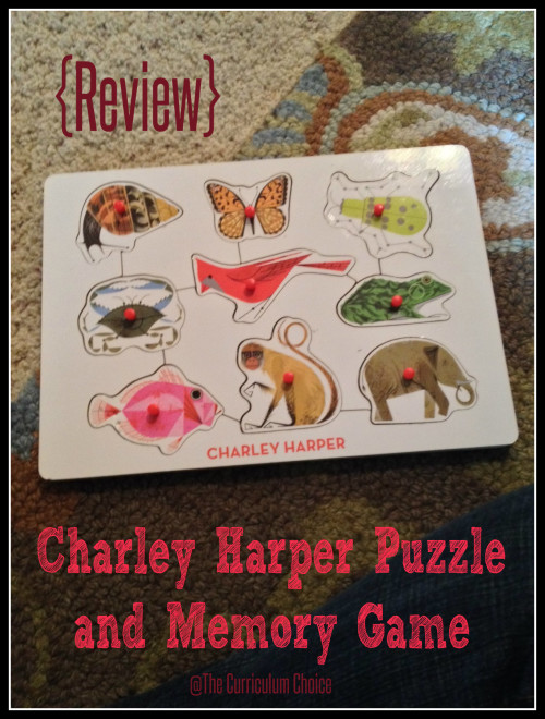 Charley Harper Wooden Puzzle review @thecurriculumchoice.com