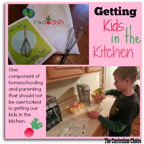Raddish helps parents get kids in the kitchen. \ The curriculum Choice